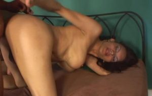 Big tits Brazilian shemale Kirsten plowed by horny Maui