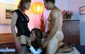 Sherry, Chris and Jasmine In Cheating Roleplay