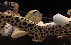 Cheetah fun with clawdia and Day