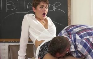 GenderX – Ms. Daisy Taylor Fucked At Parent Teacher Conference